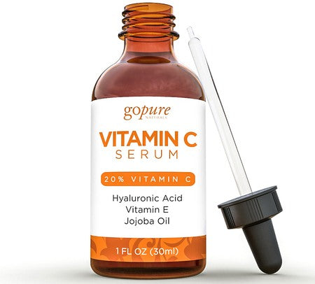 Go Pure Vitamin C Serum with Hyaluronic Acid