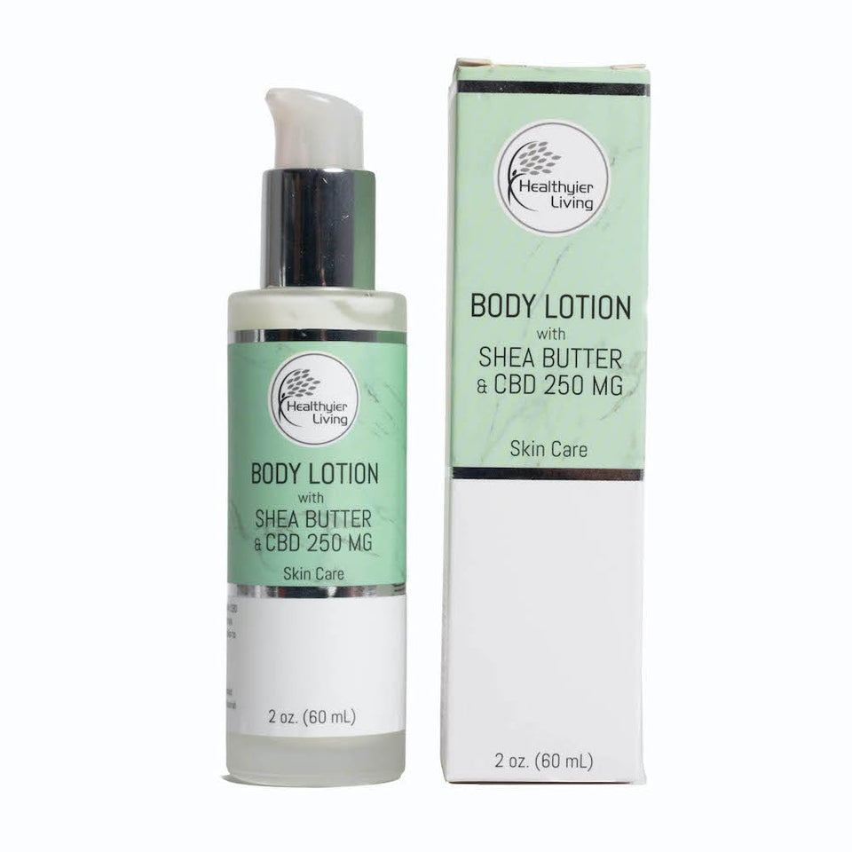 Body Lotion With Shea Butter & CBD