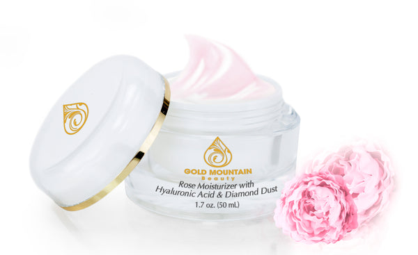 Fresh Rose Moisturizer with Hyaluronic Acid & Diamond Dust