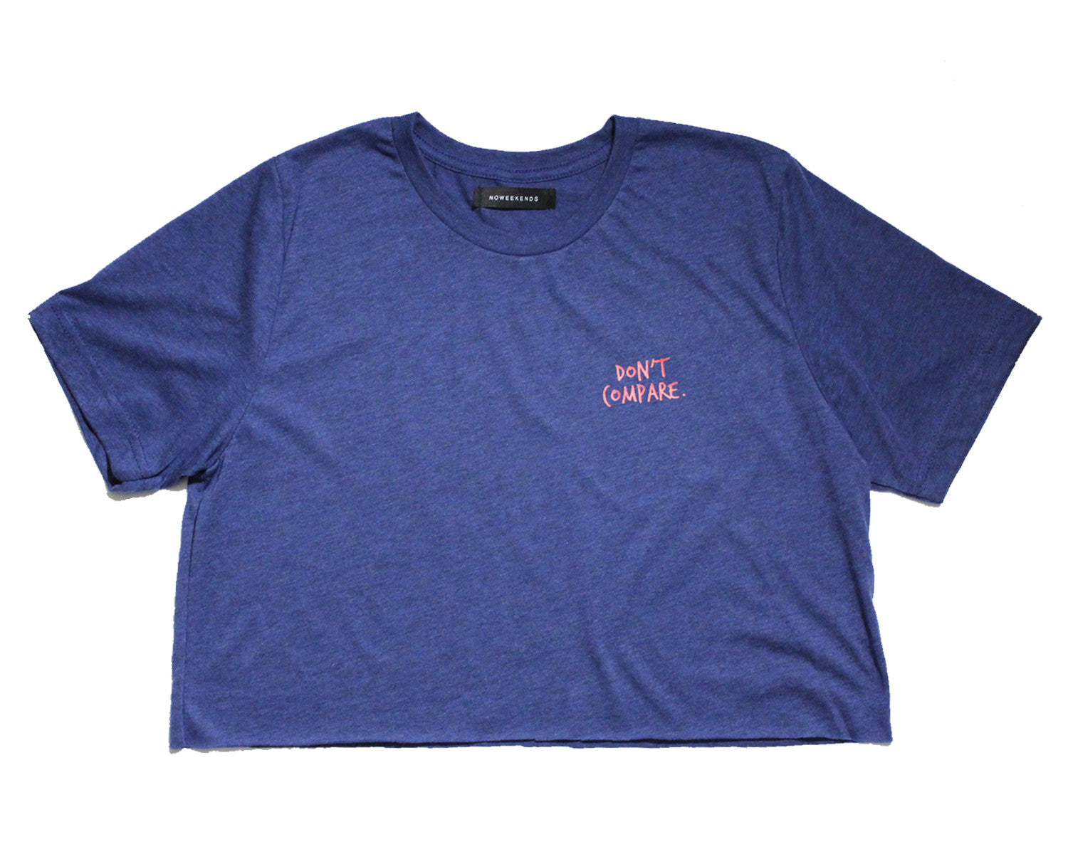 Don't compare tee (navy)