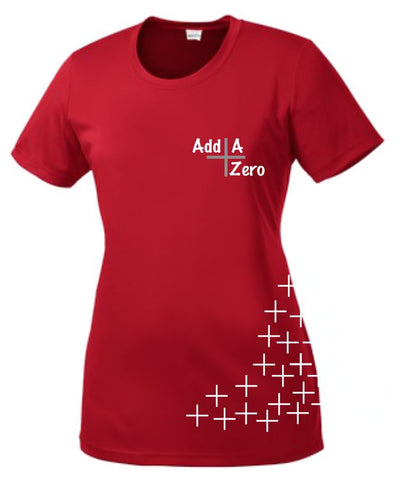 Add A Zero Sport-Tek® Ladies PosiCharge™ Competitor™ Tee