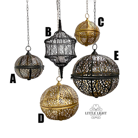 Large Morroccan Pendant Light - Casbah
