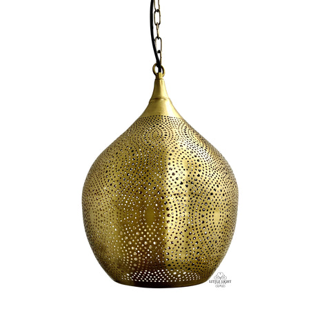 Yasmin Pierced Moroccan Pendant Light