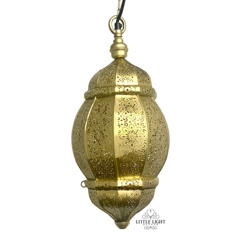 Teentara 3-Pendant Chandelier - Brass