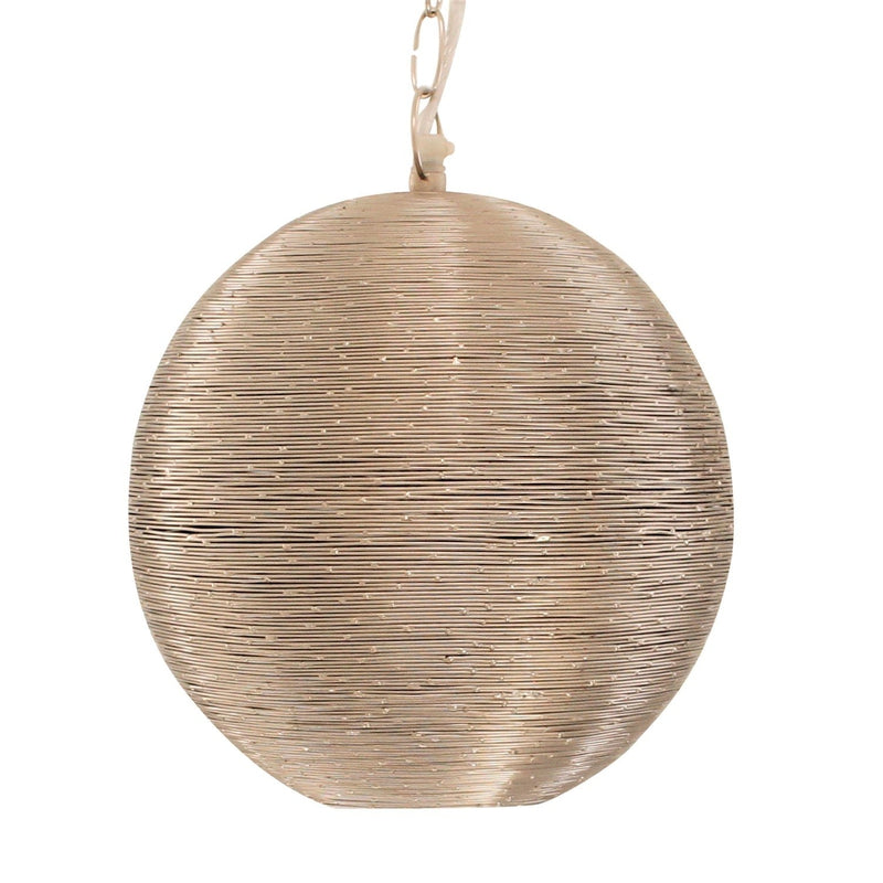 Globe Spun Wire Pendant, Moroccan lighting, Little Light Bazaar