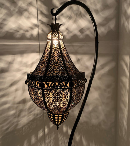 Orion Moroccan Lantern - Black
