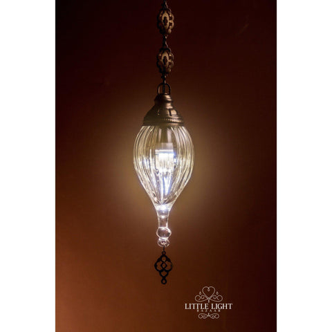 Shireen Etched Moroccan Pendant