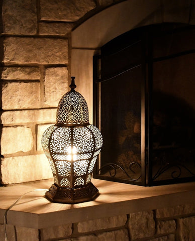 Desert Rose Moroccan Floor Lamp
