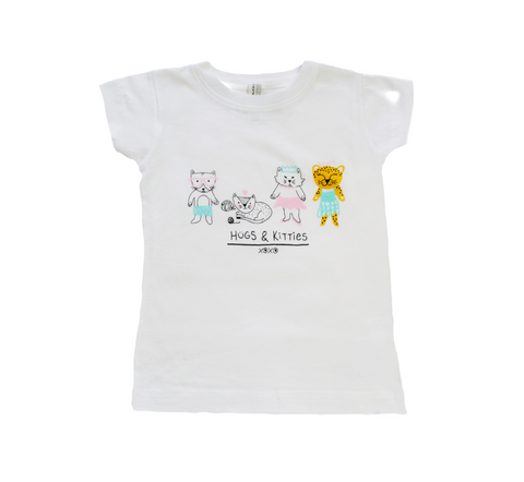 Hugs & Kitties Tee