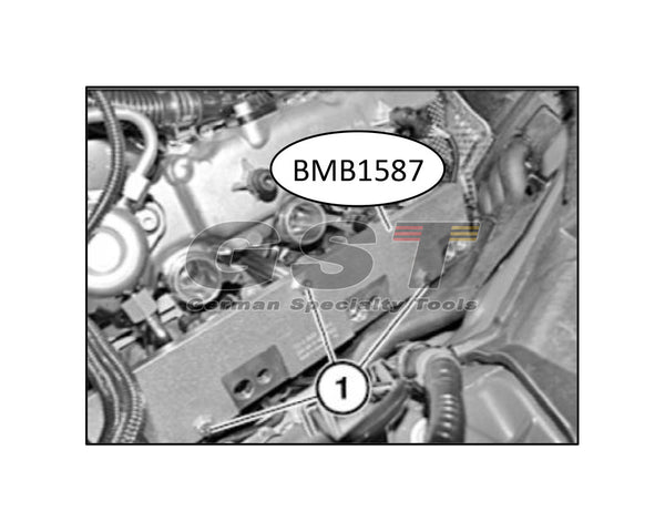 BMW Fuel Injector Removal Tool Kit - 130300 (N63, S63 engine)