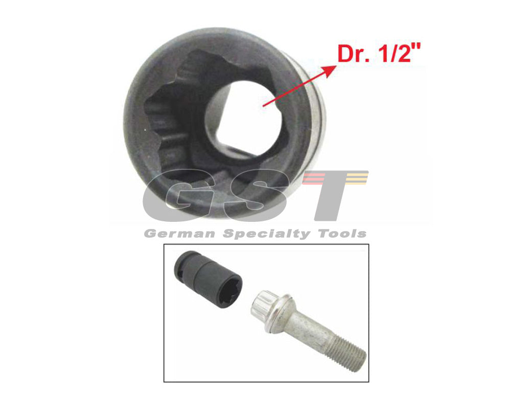 Benz (W221) Wheel Lug Socket (17mm)