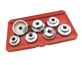 7PCS Oil Filter Socket Set for Mercedes Benz, Mini Cooper, Ford, SAAB