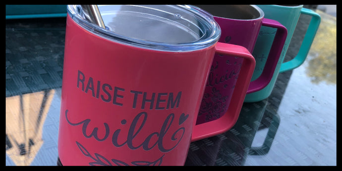 New Engraved Coffee Mugs