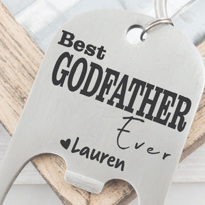 Godfather Bottle Opener Keychain