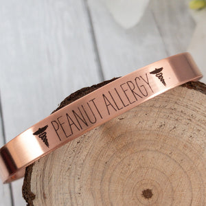 Copper Medical Alert Cuff