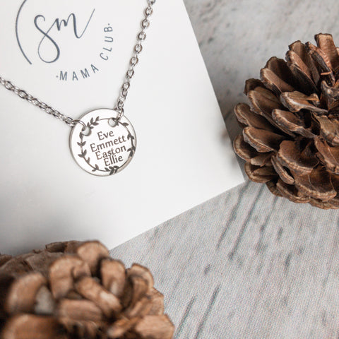 MAMA NECKLACE  //   Join The Fun of a Monthly Necklace Subscription!!
