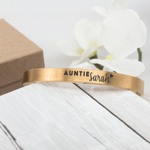 Auntie Animal Bar Necklace