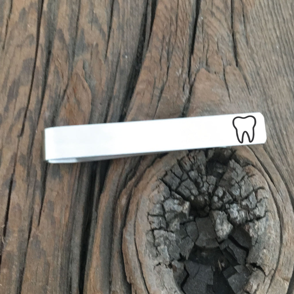 Tooth Tie Clip - Sierra Metal Design Personalized Gifts & Jewelry
