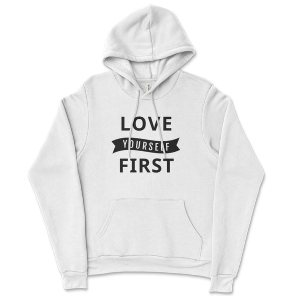 Love Yourself First Unisex hoodie