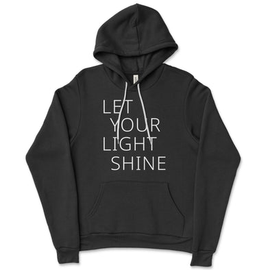 Let Your Light Shine Unisex hoodie