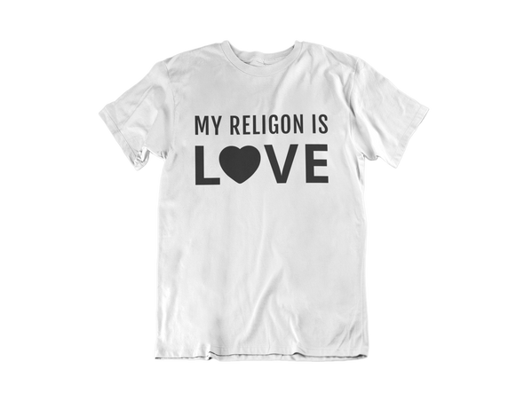 My Religion Is Love Unisex Tee
