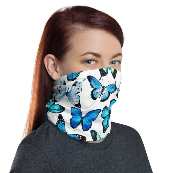 Butterfly Face Mask - White