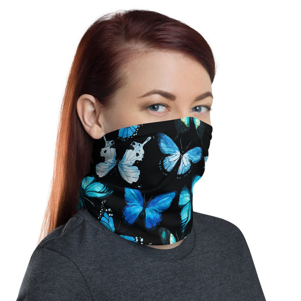 Butterfly Face Mask - Black
