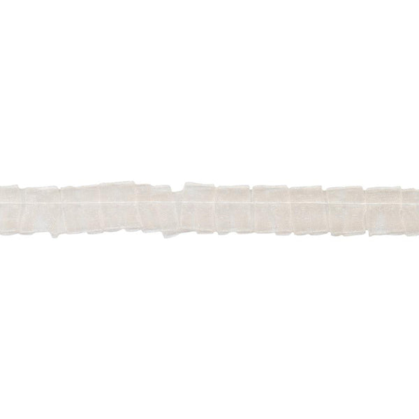 May Arts - Sheer Ribbon - Ivory