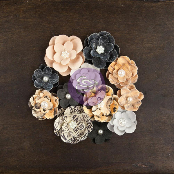 Prima Cartographer Paper flowers - Sightseer