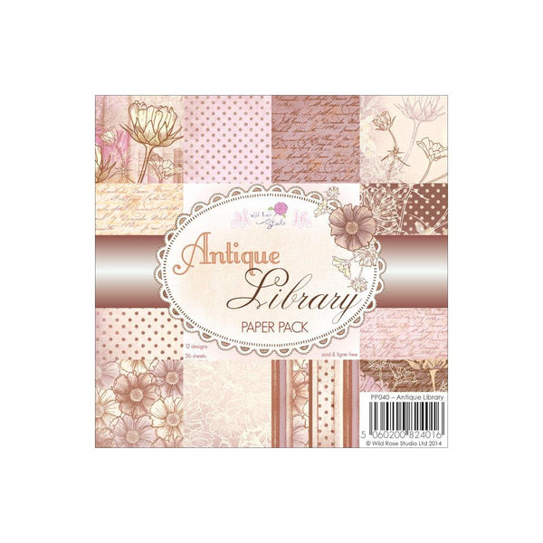 Antique Paper -Wild Rose Studios