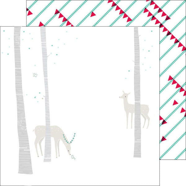 Pinkfresh Studio - Christmas Wish - Oh Deer Paper