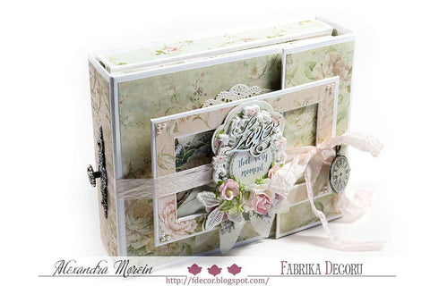 Love letters cabbage style Kit - Alexandra Morein