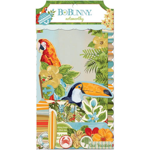 Bo Bunnu - Beach Therapy Noteworthy Die-Cuts