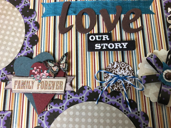 Love our Story layout - Becky Ayers