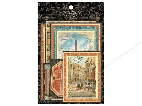 Graphic45  CityScape Journaling and Ephemera Cards
