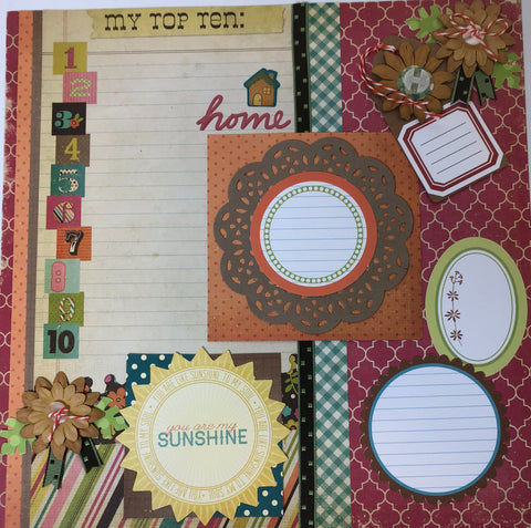 Cozy Comfort Layout kit - Becky Ayers