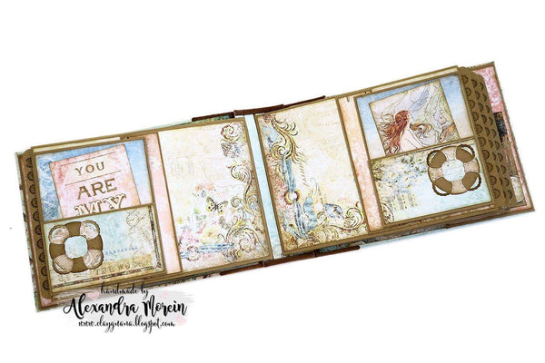 Seaside Vintage Suitcase and Album Kit - Alexandra Morein
