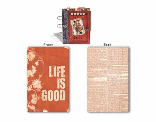 7 Gypsies Paper Collection - Book Cover - Life Is Good