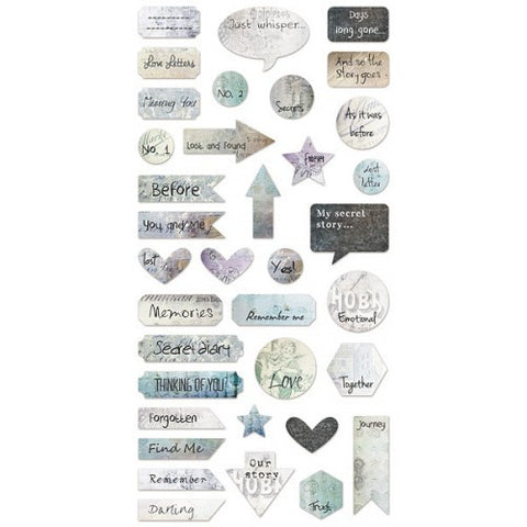 7 Dots Studio Paper Collection - Cold Country  - 6x12 Elements