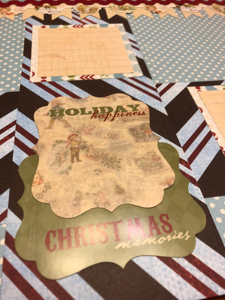 Christmas Memories Layout Kit - Becky Ayers