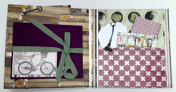 Adventure is just a Page Away Mini Album in Box - Einat Kessler