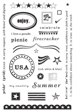 Art Warehouse - Clear Stamps summer pride