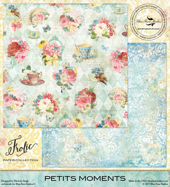 Blue Fern Studios Paper Collection - Frolic - Petits Moments