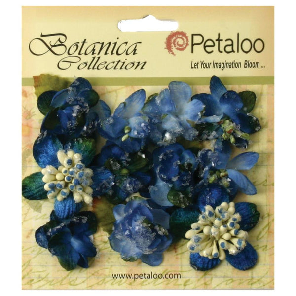 Petaloo Sugared Mini- Royal blue