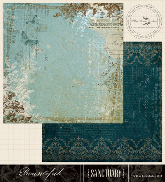 Blue Fern Studios Paper Collection - Sanctuary -  Bountiful
