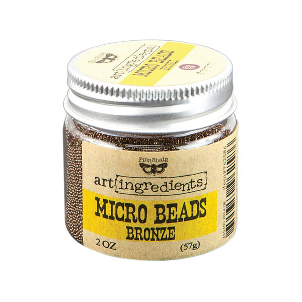 Finnabair Art Ingredients Bronze Micro Beads 2oz