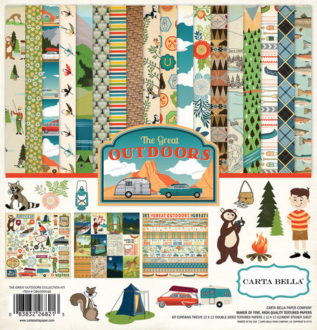 Carta Bella - Great Outdoors Collection kit