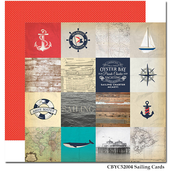 Carta Bella - Yacht Club - Sailing Cards