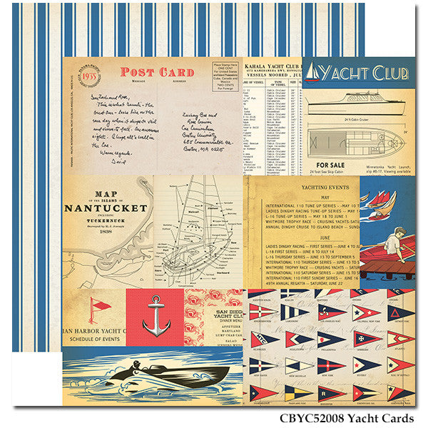 Carta Bella - Yacht Club - Yacht Cards