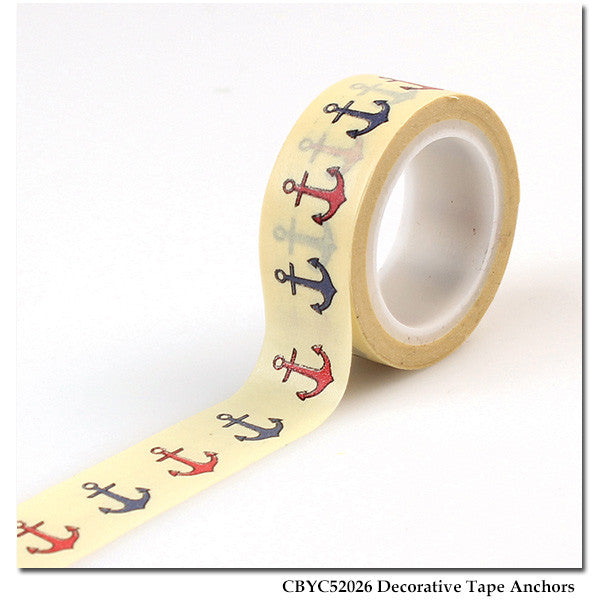 Carta Bella - Yacht Club - Decorative Tape Anchors